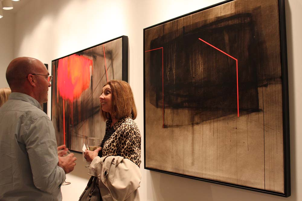 Bill Lowe Gallery Fernando Gaspar & Maggie Hasbrouck Opening Reception 56.jpg