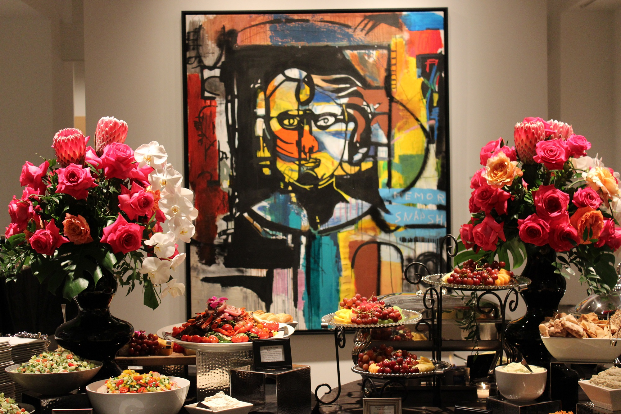 Frank Schroeder Bill Lowe Gallery Opening 1.JPG