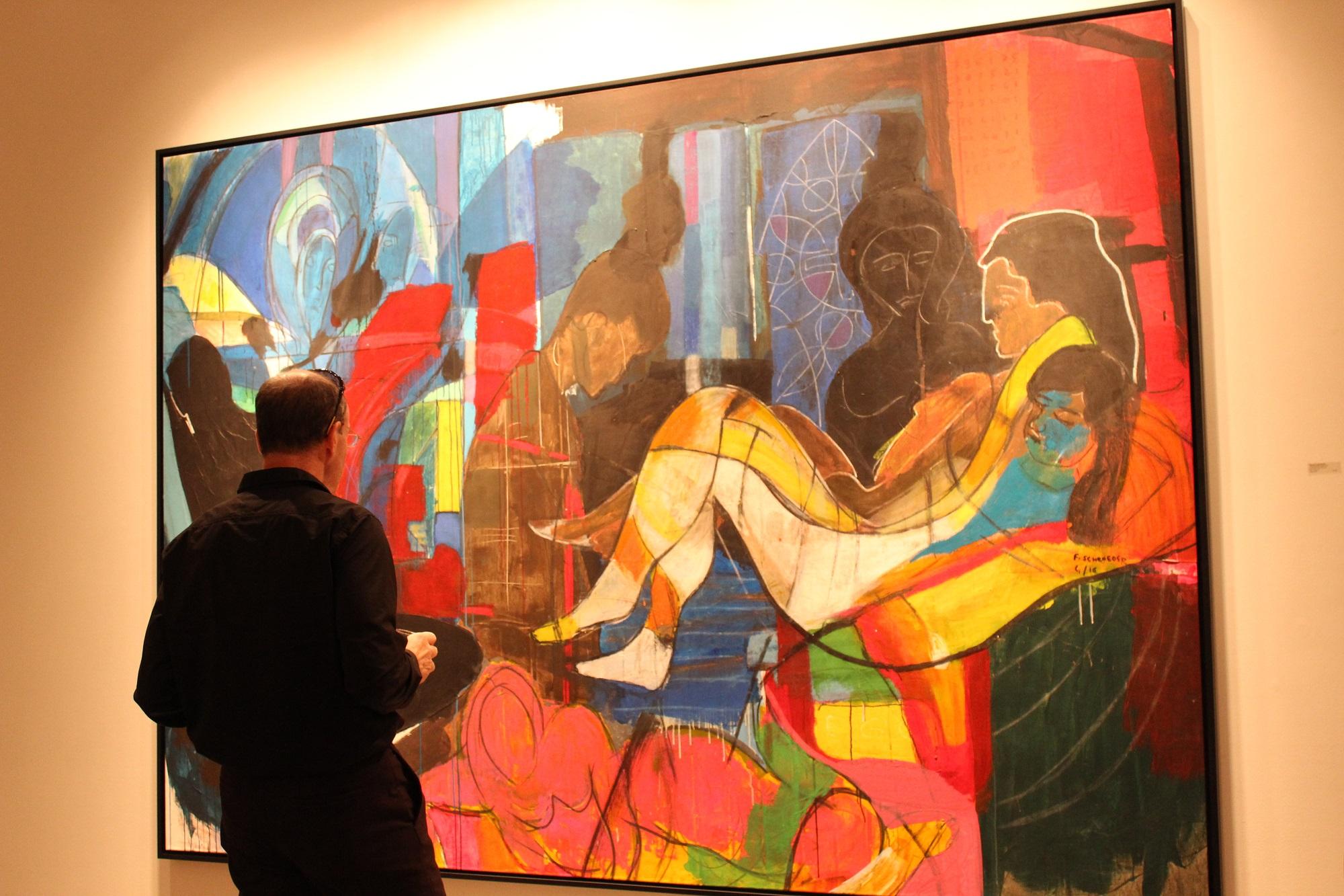 Frank Schroeder Bill Lowe Gallery Opening 6.JPG