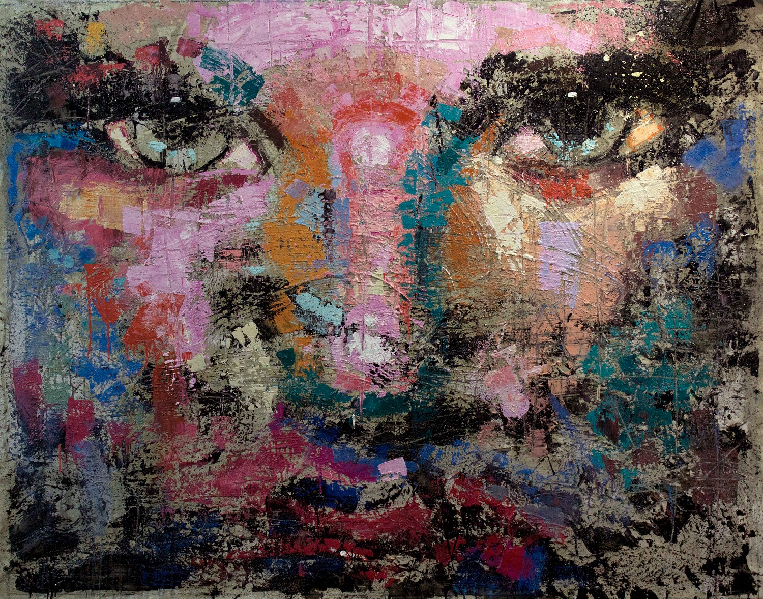 Modica_Gnosis_Regret - 79x59 inches - mixed media on canvas - 2015hd.jpg