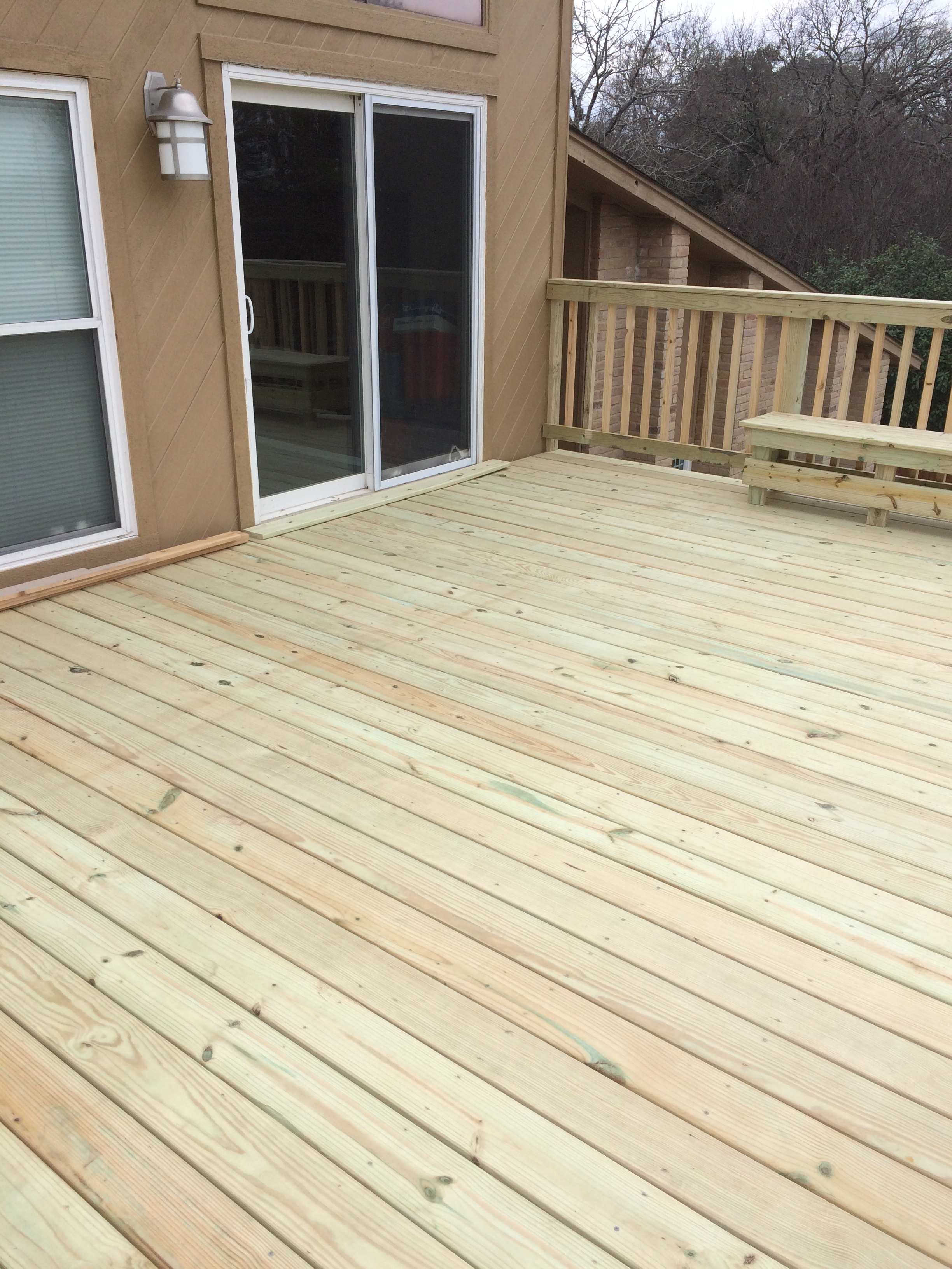 Rooftop deck built.JPG