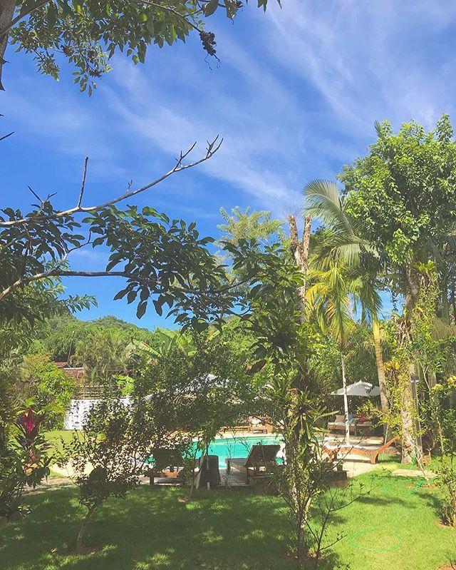 """Acordo e acho que ainda estou sonhando! Que paraíso! 💚""⠀ ...⠀ Reposting @hugozenman:⠀ ...⠀ #estalagemcamburi #camburi #camburizinho #cambury #sertaodocamburi #airbnbphoto #airbnb #bnbphoto #meualuguetemporada #aluguetemporada #holidayrentals #homeaway #boutiquehomes #beach #litoralnorte #saosebastiao #mataatlantica #hiddenpousadas #airbnbphotooftheday #summertime #guesthouse #casarnapraia #cambury #airbnboftheday #villa #miniwedding #pool #boutiquestay #surfholiday #gettogether"