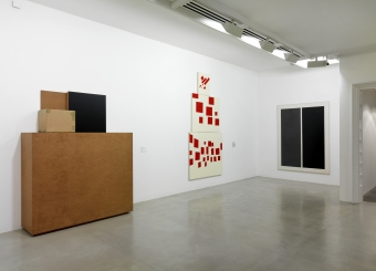 Installation view (2011) Tate St Ives (Knobel, Diao, Richter)
