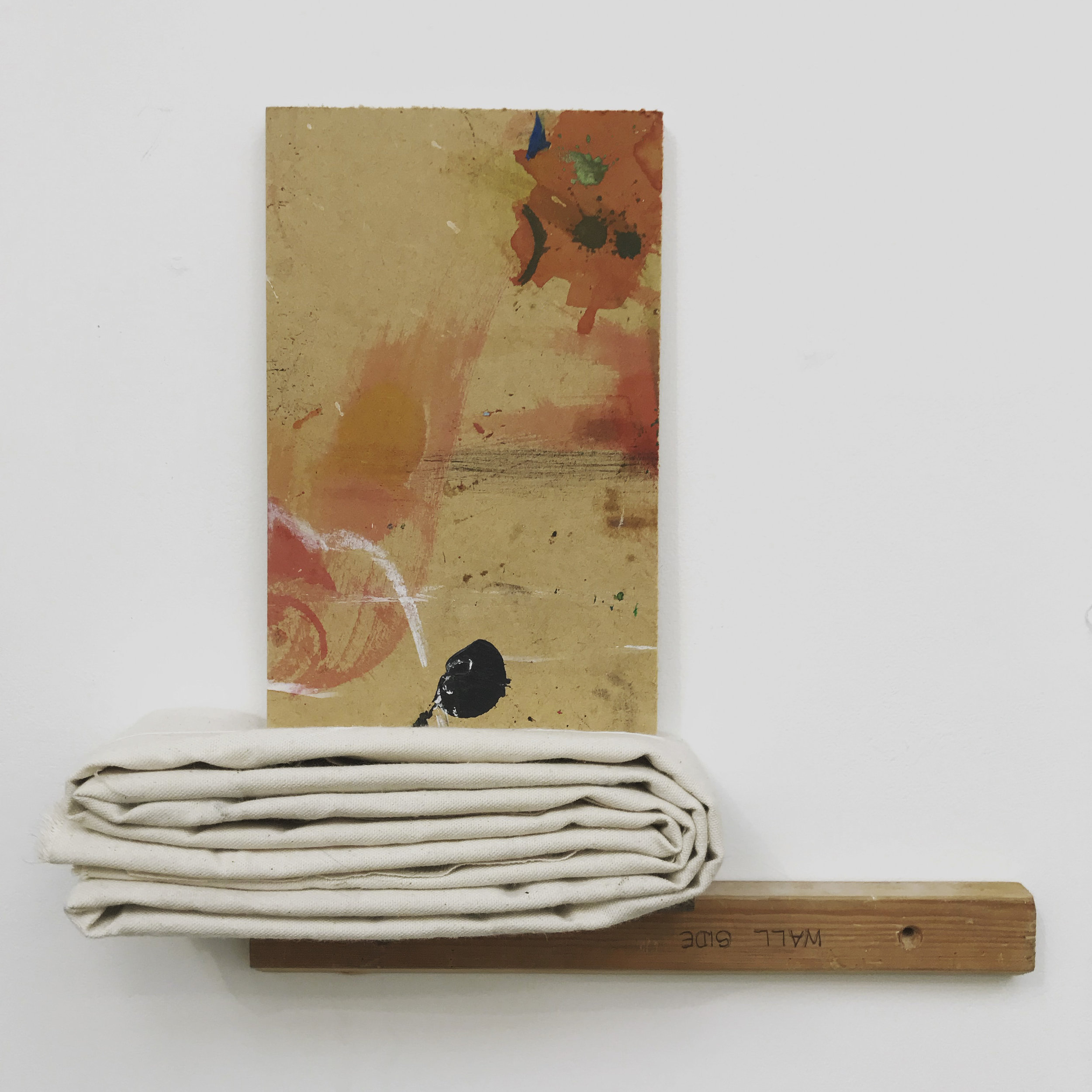 Object(Ification)(2018) Canvas and wood with acrylic paint. 38 x 38 x 9cm.jpg
