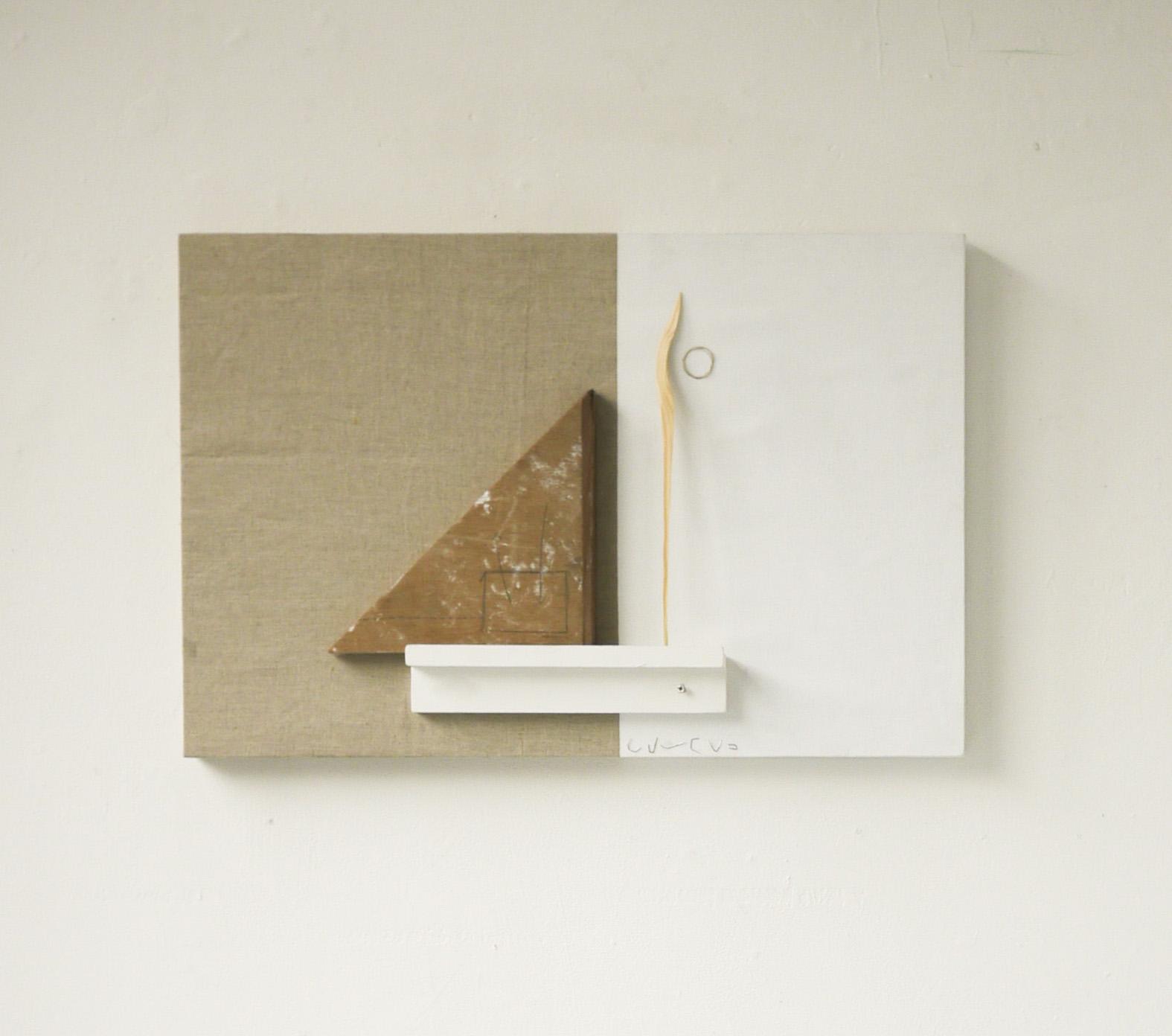 Per Se (2019) Wood, Canvas, Staples and Acrylic on Linen. 75 x 50 x 8cm.jpg