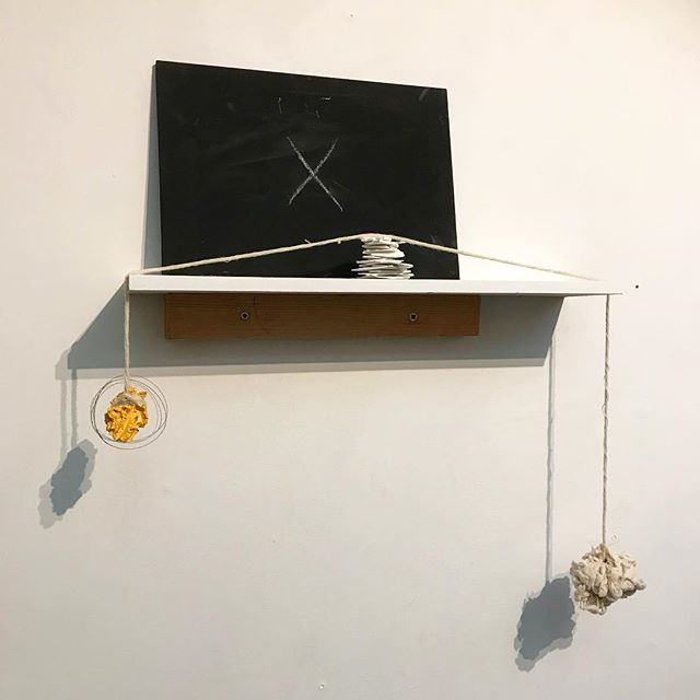 Trying to decide if this is a self-portrait.... #art #studio #wip #photooftheday #artwork #composition #contemporary #sculpture #abstractart #contemporarypainting #contemporaryart #evolving  #fineart  #installation #juxtaposition #kunst #representation #painting #placement #contemporarysculpture #emergingartist #unwanted #artforsale #studio #contemporaryinstallation #kunstwork #minimalism #nomination #thisisart