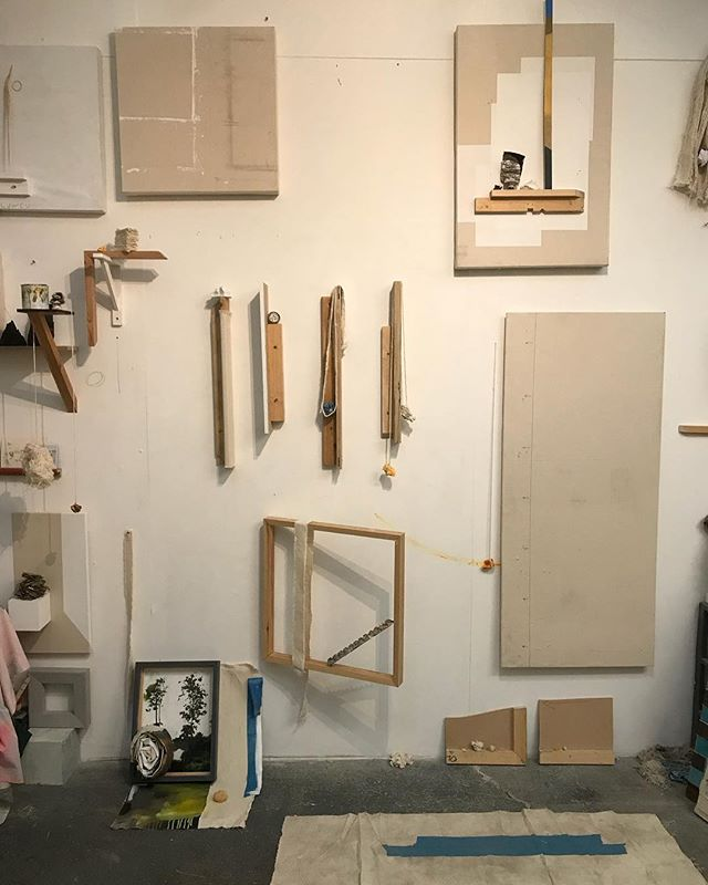Studio wall this evening..... Various WIP's and tests ongoing.  A few obsession showing through.  #art #studio #wip #photooftheday #artwork #composition #contemporary #sculpture #abstractart #contemporarypainting #contemporaryart #evolving  #fineart  #installation #juxtaposition #kunst #representation #painting #placement #contemporarysculpture #emergingartist #unwanted #artforsale #studio #contemporaryinstallation #kunstwork #minimalism #nomination #thisisart