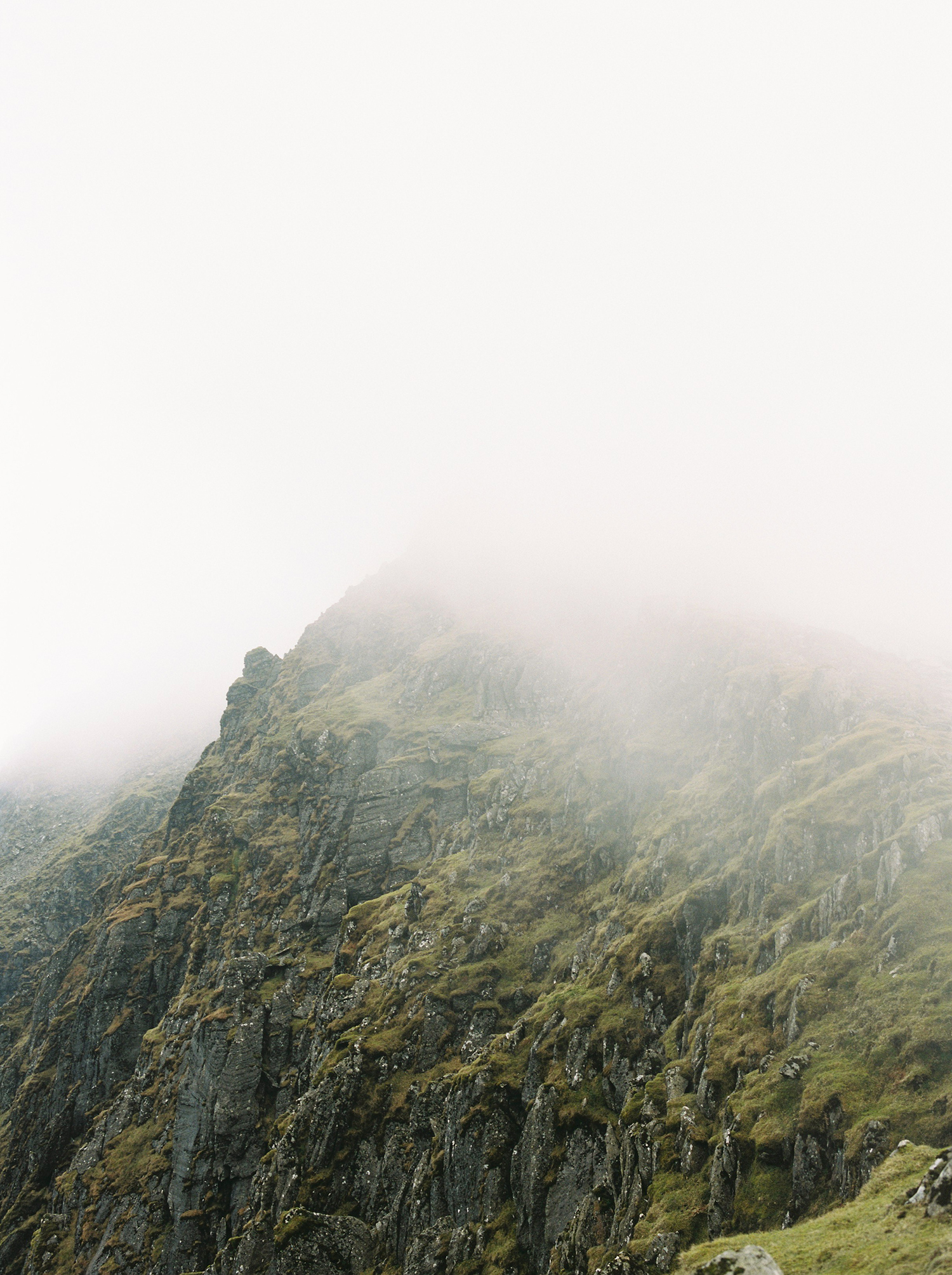 Snowdon summit shot on Kodak film. By Dmitry Serostanov