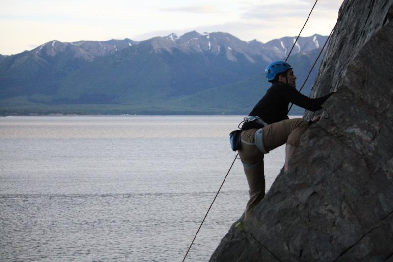 Andrew Alaska Rock Climbing