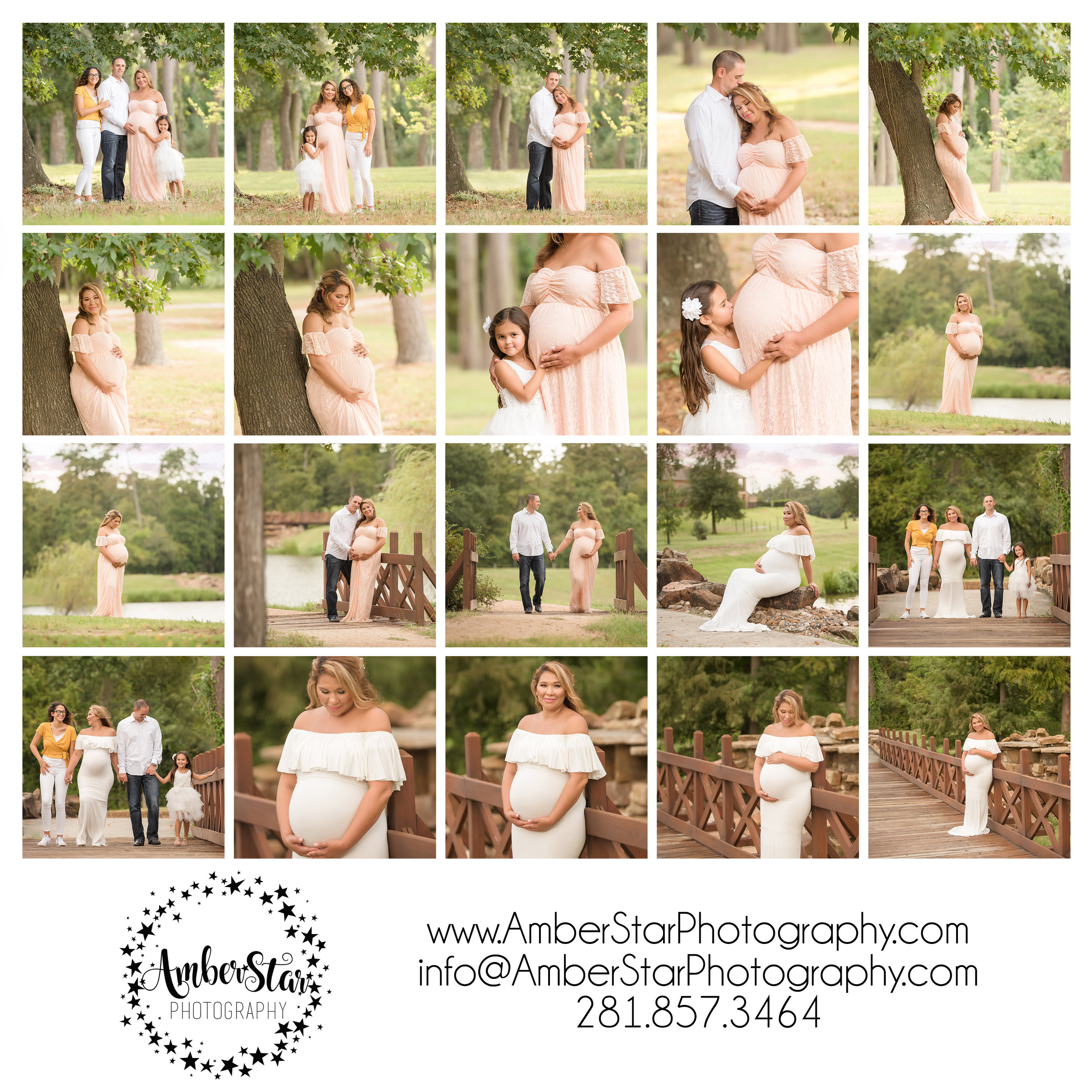 outdoor maternity session + maternity photoshoot + maternity photographer + maternity photographer + houston + the woodlands + spring + Texas