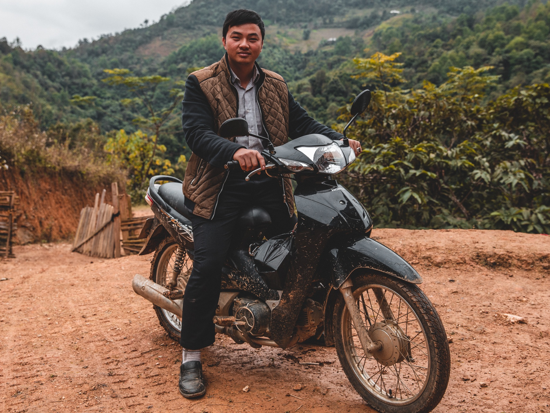 """""""The motorcycle you gave has allowed me to go to further unreached villages with the gospel. Thank you so much."""" - Pastor Minh 