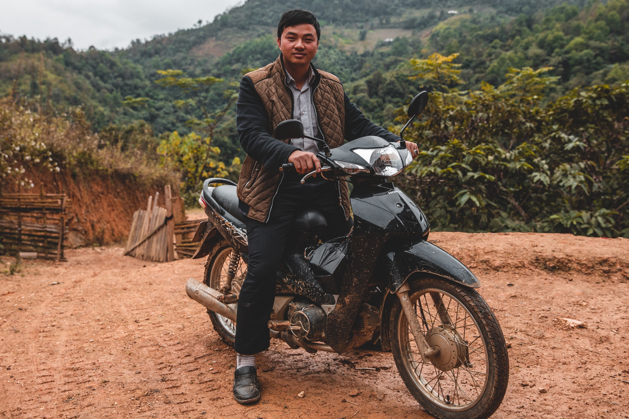 MOTORCYCLES - One of the biggest hurdles church planters face in Vietnam is the mountainous terrain isolating unreached villages. Motorcycles help pastors reach more villages with the gospel. You provided this motorcycle to this pastor and he was able to reach three new villages with the gospel.