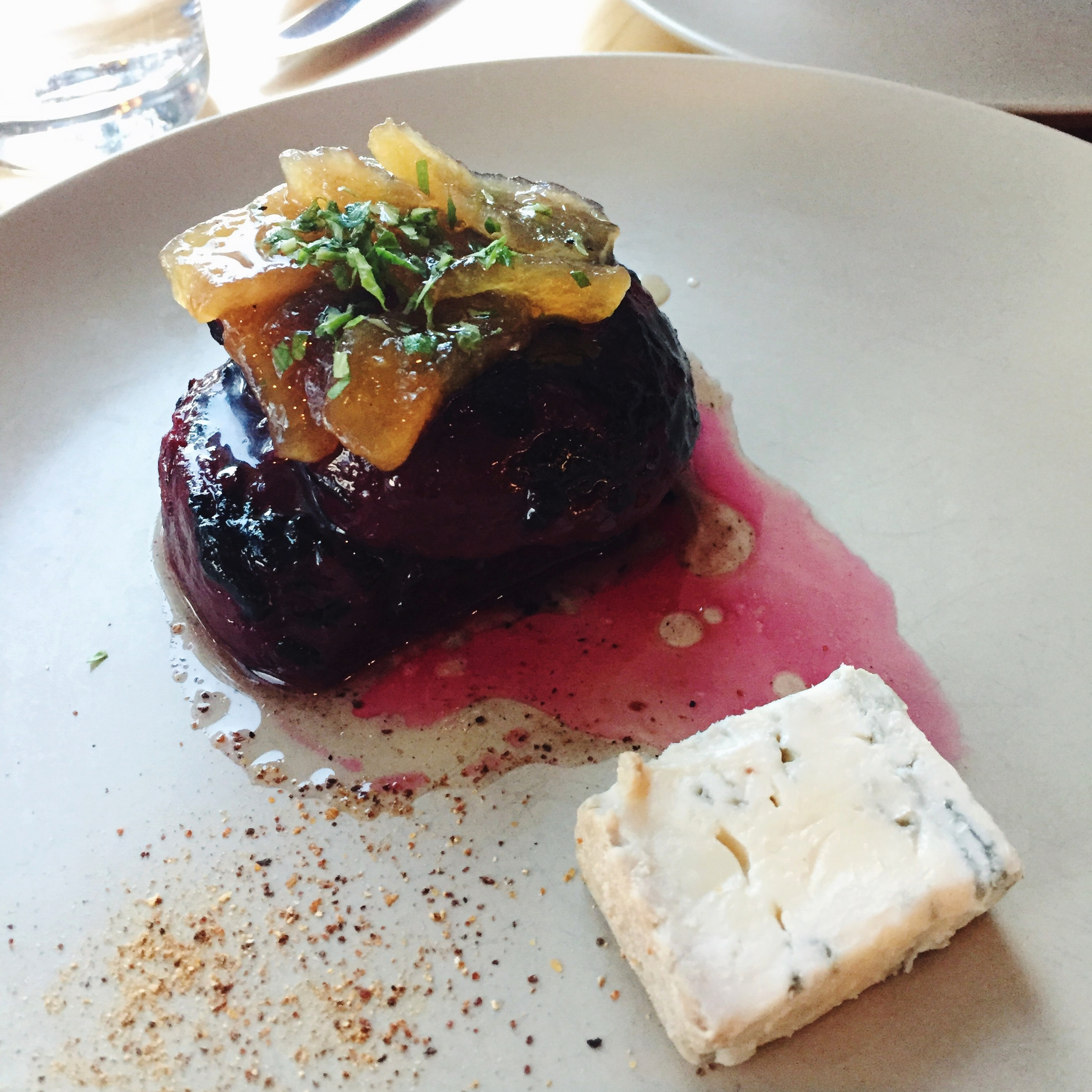 Roasted Beets, Citrus, Pine - $6