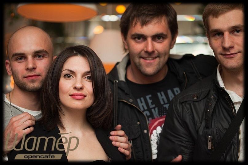 Nikita Nak, me, Denis Klementiev, Alex Lagaz