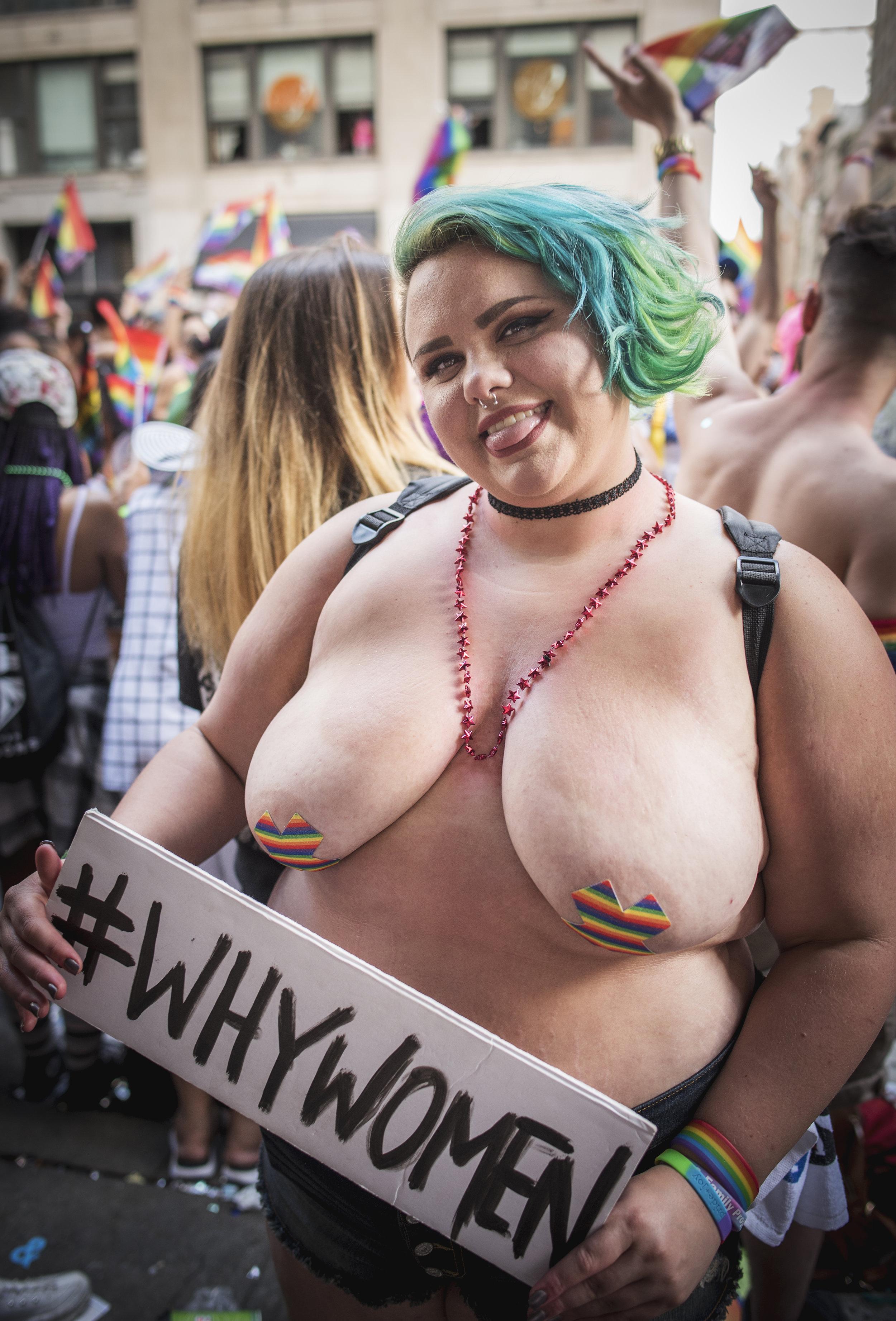 Holly Tucker, 23, queer -