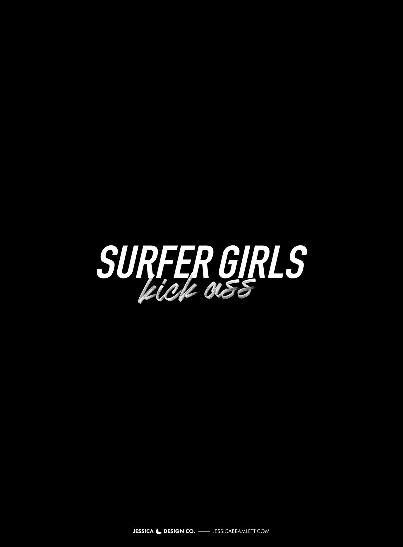 Surfer Girls Kick Ass Branding