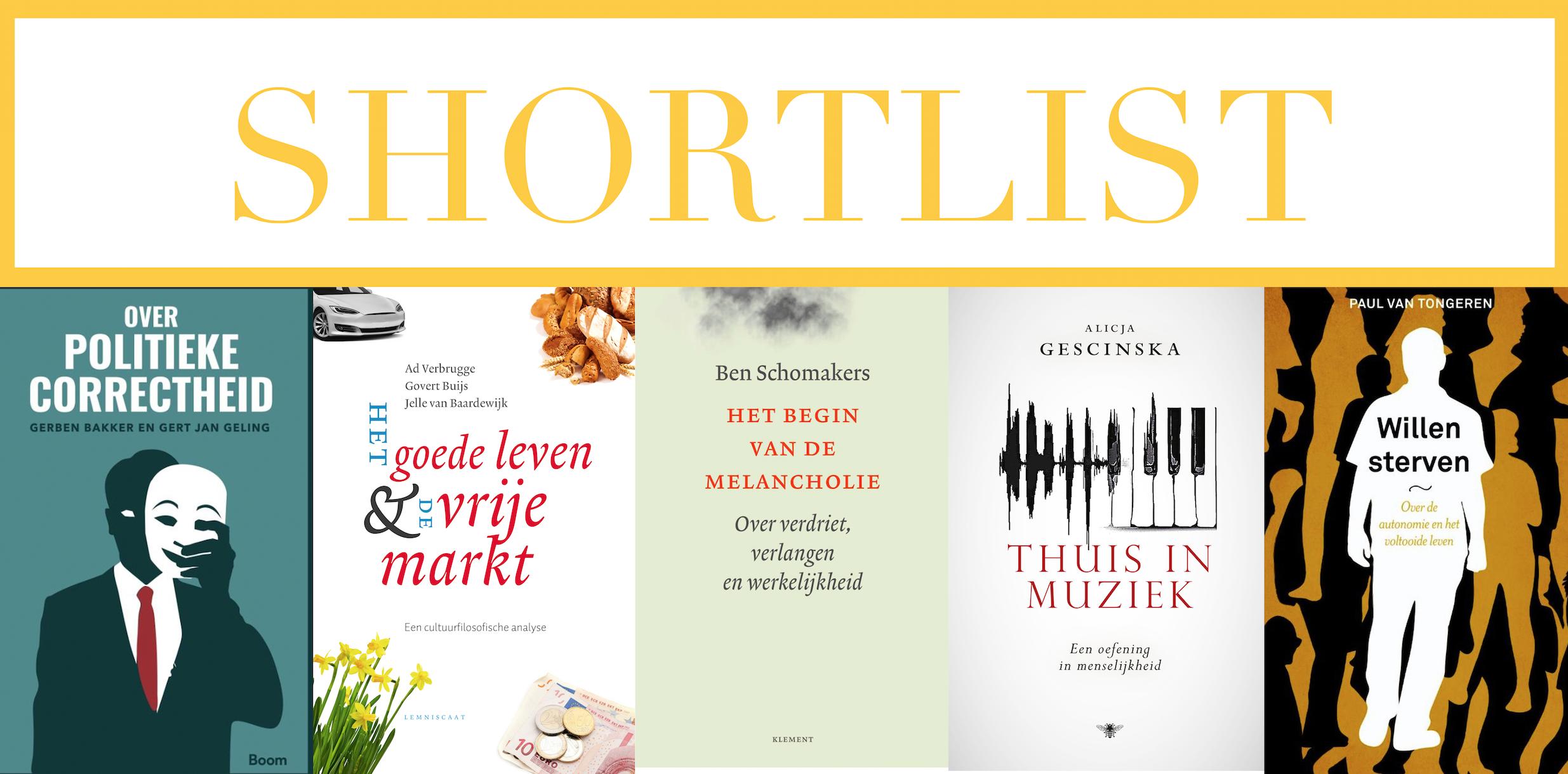 Socratesbeker Shortlist