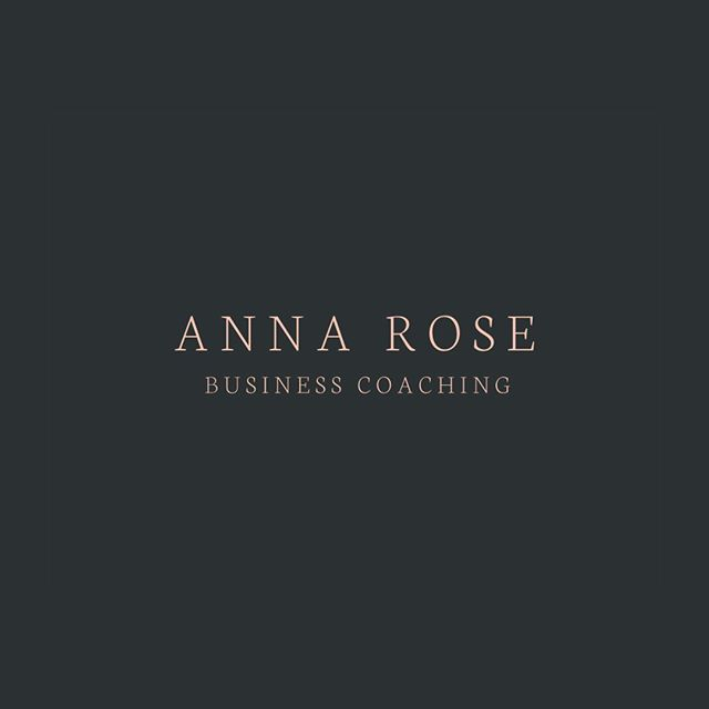 Introducing Anna Rose, a #premadebrandkit in the #brandbar.  Traditional and elegant design with a modern touch.  I cannot believe summer is almost over 🍉🍧⛲ My little girl is starting school in a week.  Ugh time flies.  Where did the summer go? 😔😔😔 #bizmomma #branding #logo