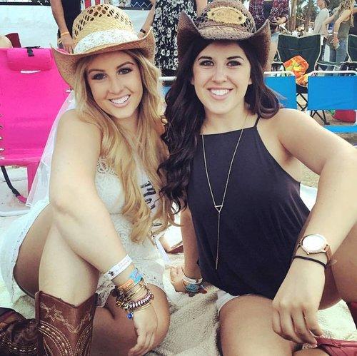 Best Bachelorette Locations Stagecoach Coachella Sisters Party Katie Laines Design and Coordination