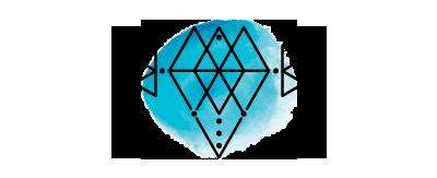 Katie Laines Design and Coordination Diamond Geo Stamp