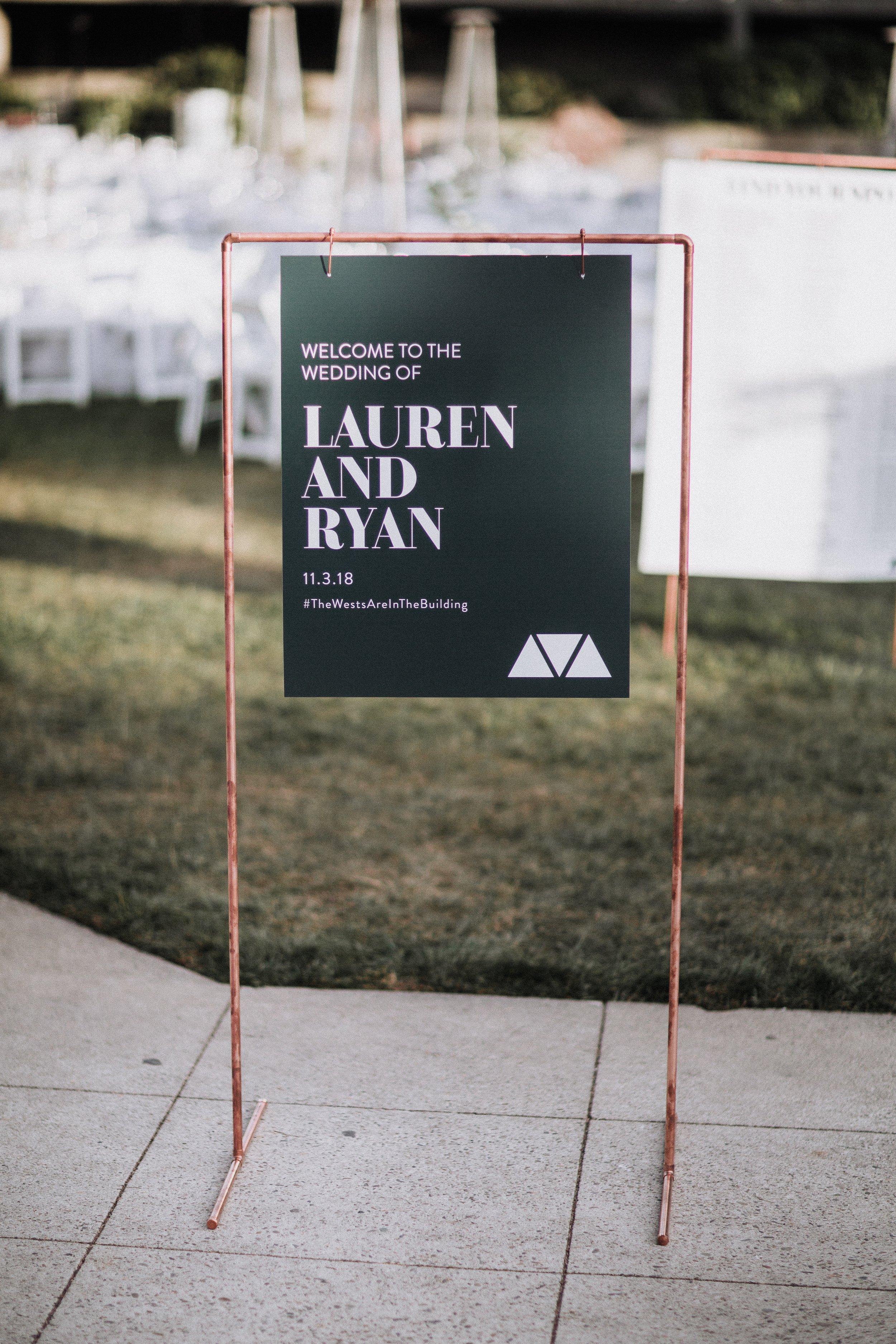 Lauren And Ryan Welcome To The Wedding Oakland Museum of California KLdc