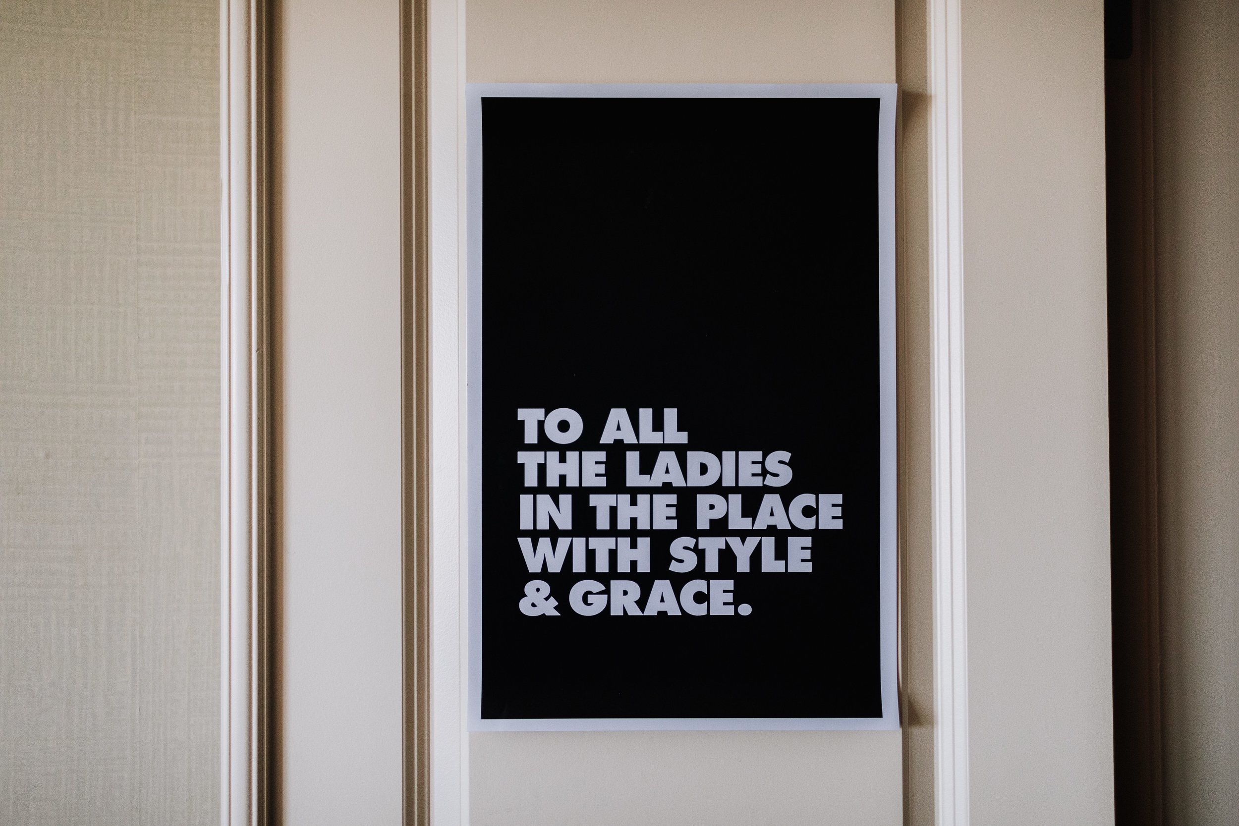To All The Ladies In The Place With Style And Grace Poster Oakland Museum of California KLdc