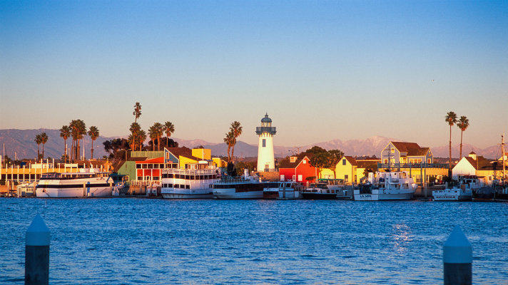 Marina Del Rey's Fisherman's Village