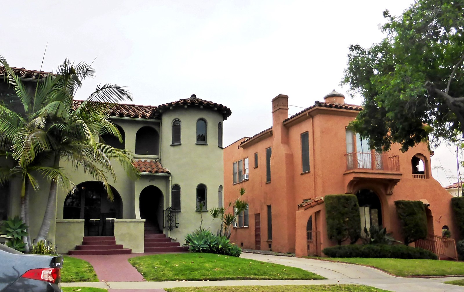 Typical Spanish Colonial Revival Architecture