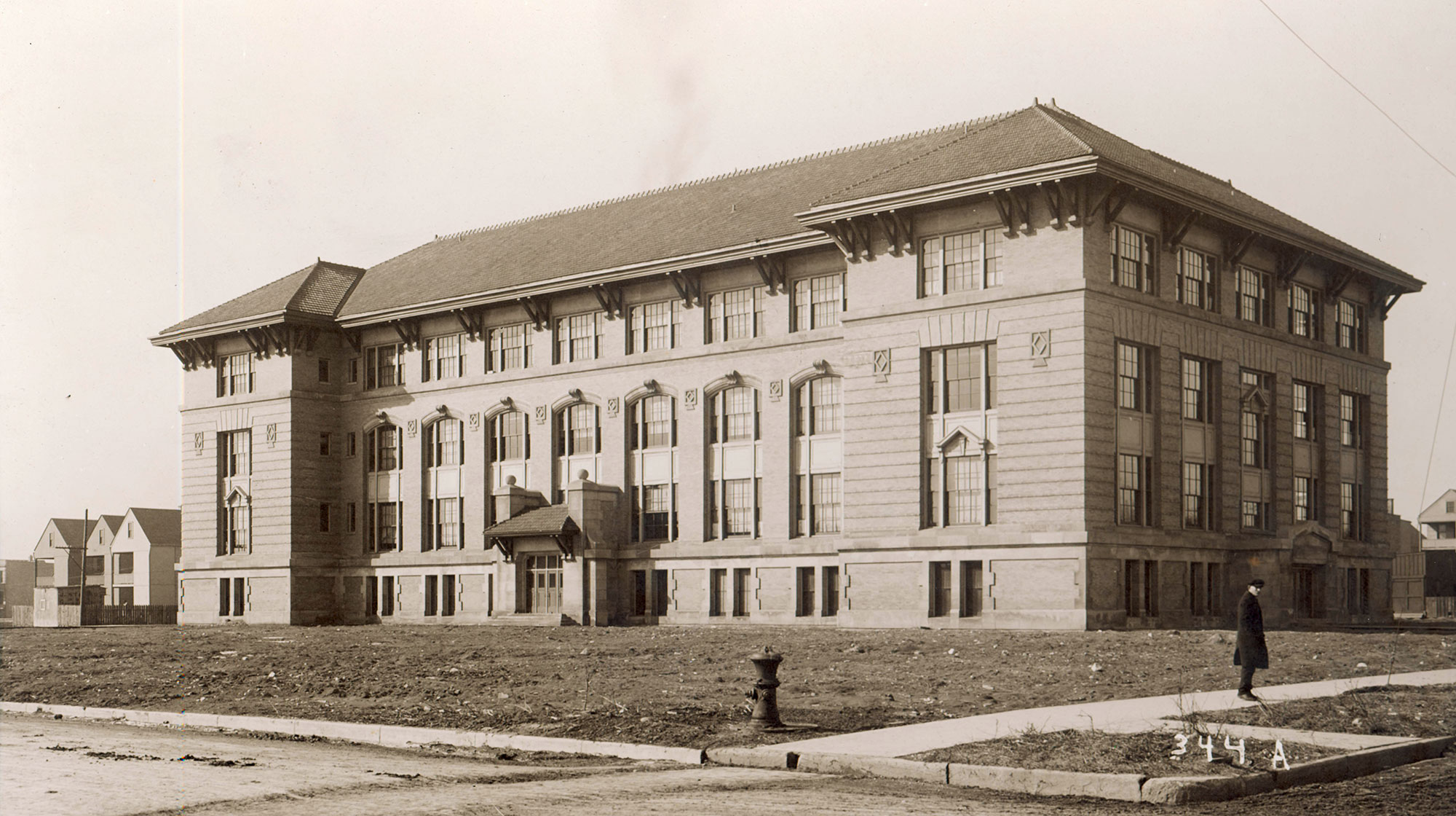 Penn School, ca. 1908, courtesy of Bill Latoza.