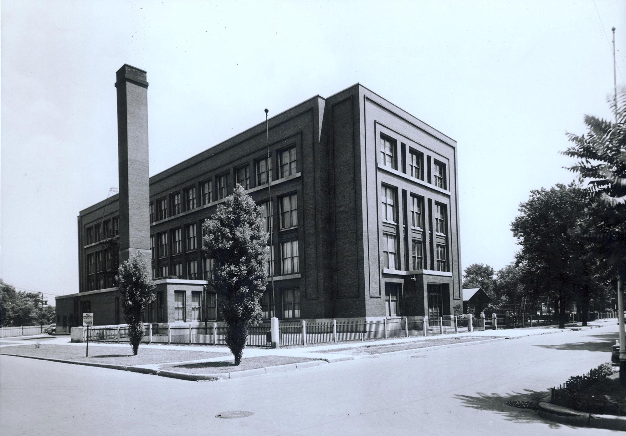 Corkery School, ca. 1940, courtesy of Bill Latoza