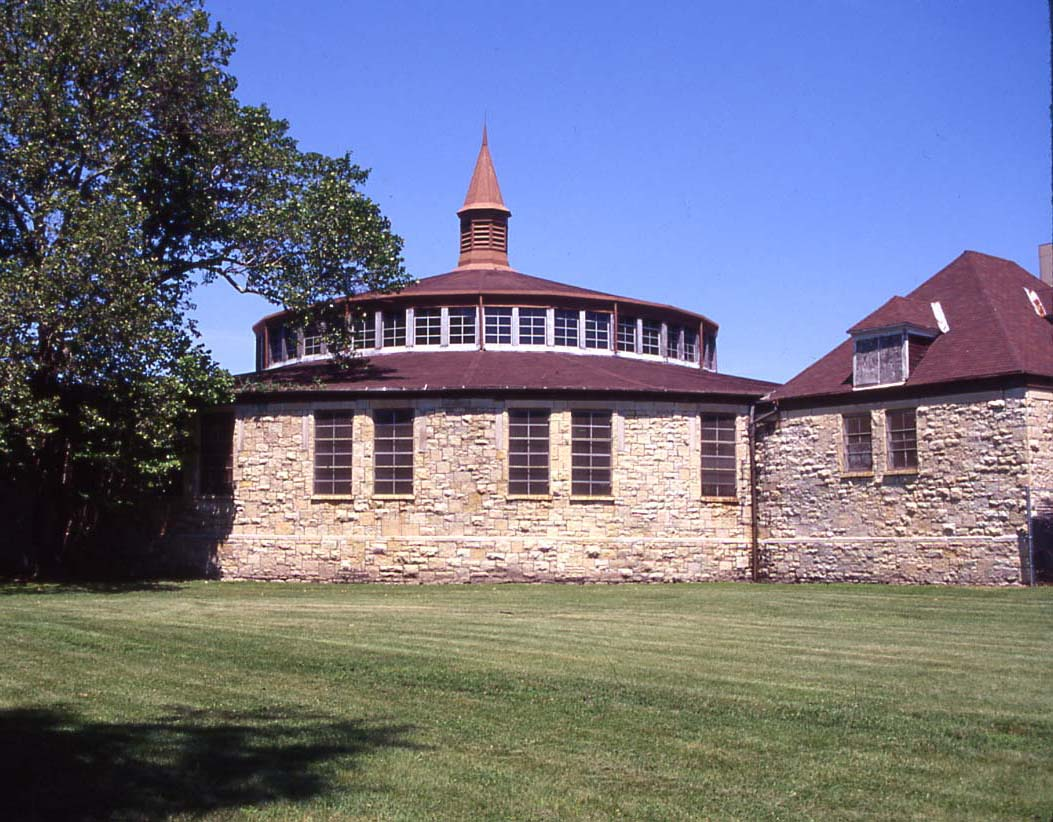 Built in 1880, Burnham & Root's Washington Park Stables, known as the Round House, is being rehabilitated as an annex for the Du Sable Museum.