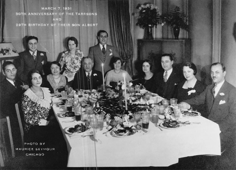In this Tarrson family photo, Sam and Janet Oman are depicted at the far right, in 1931. Photo courtesy of Ronald Tarrson.