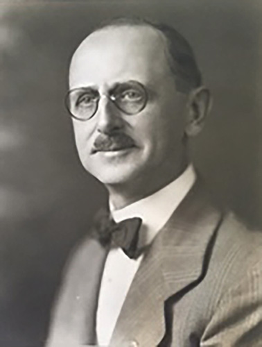 Clarence Hatzfeld, ca. 1927. Courtesy of Chicago Public Library Special Collections.