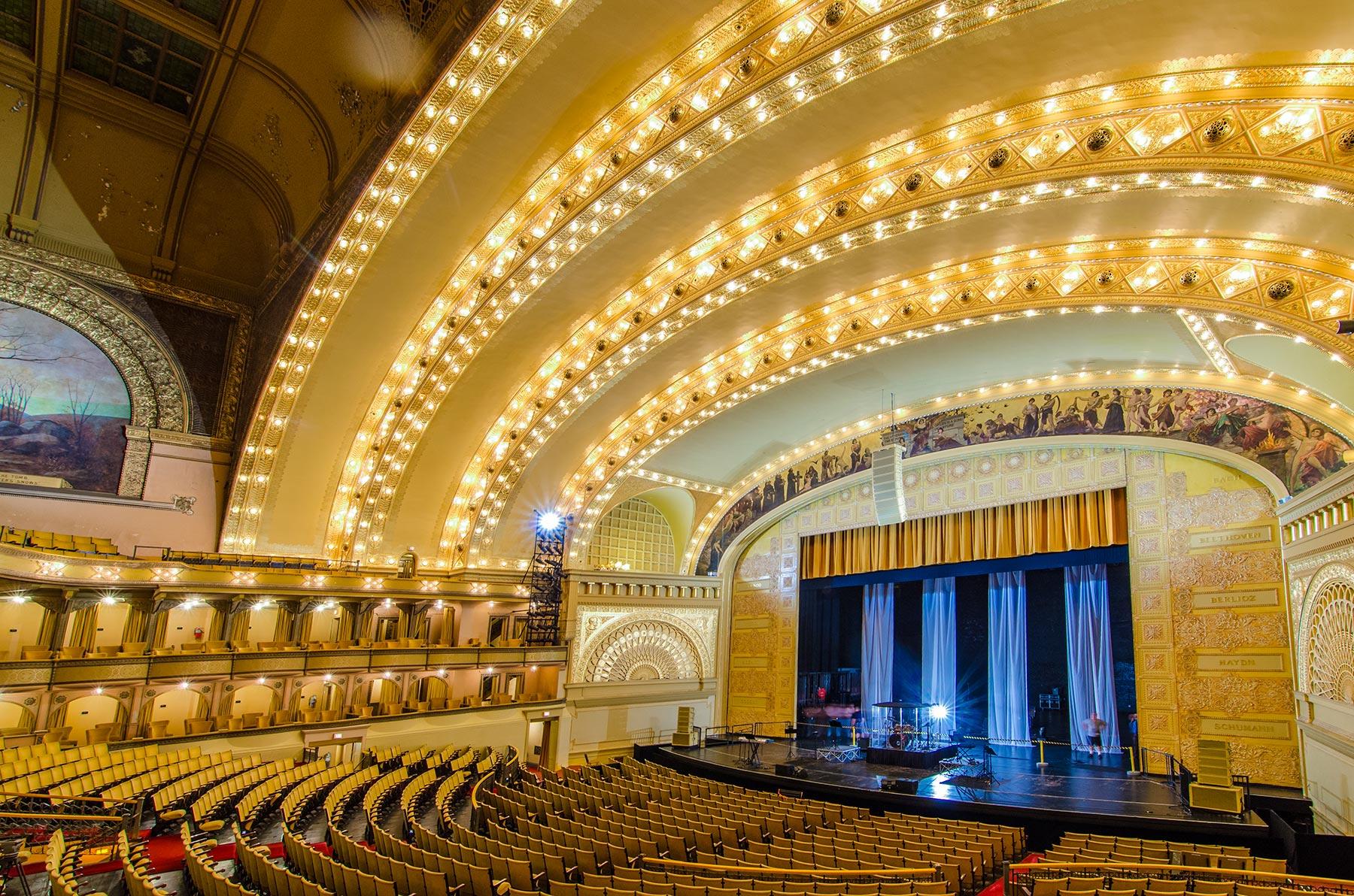 Auditorium Theatre Interior. Photo by Eric Allix Rogers.