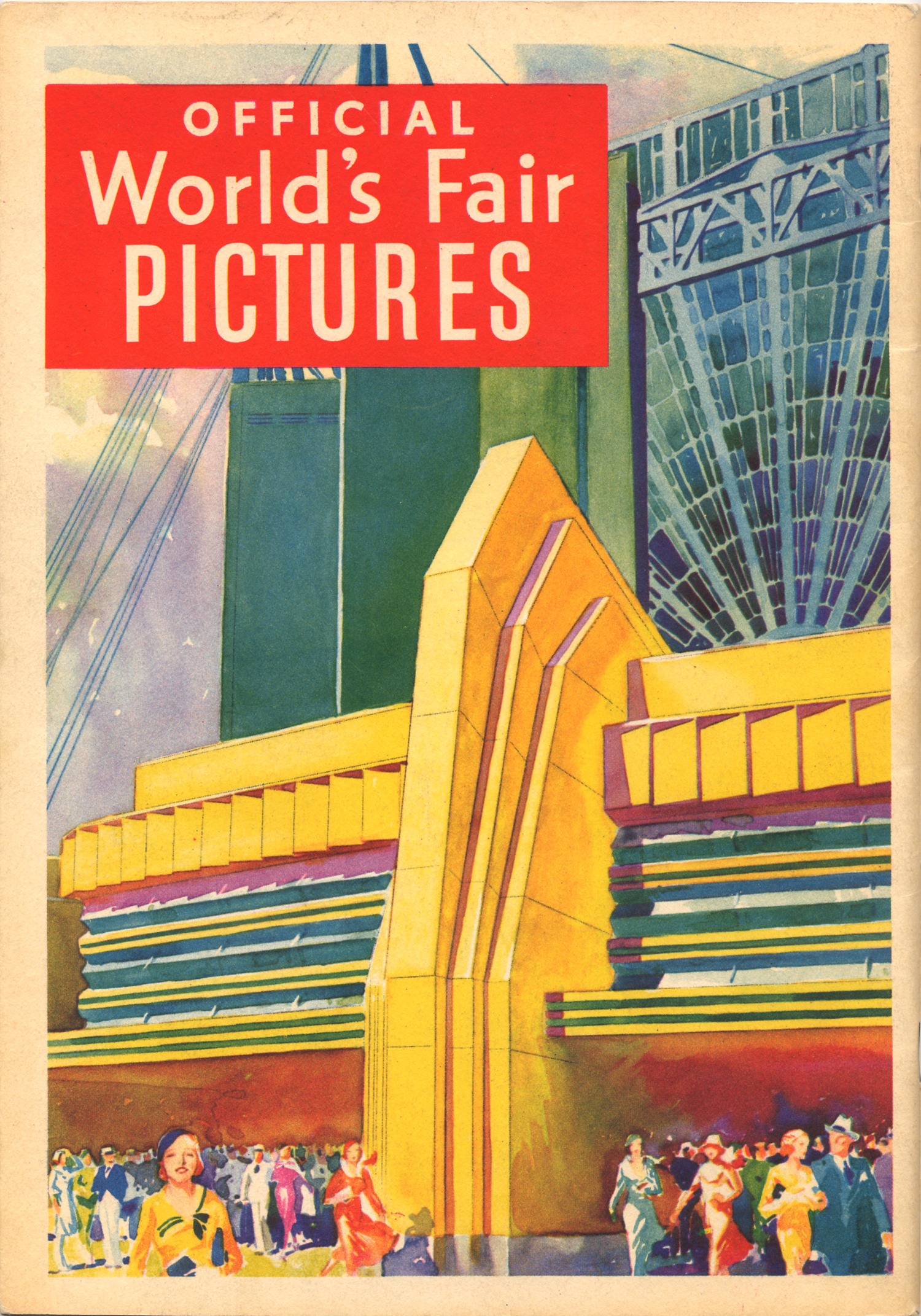 Official World's Fair Pictures Souvenir Book, 1933.