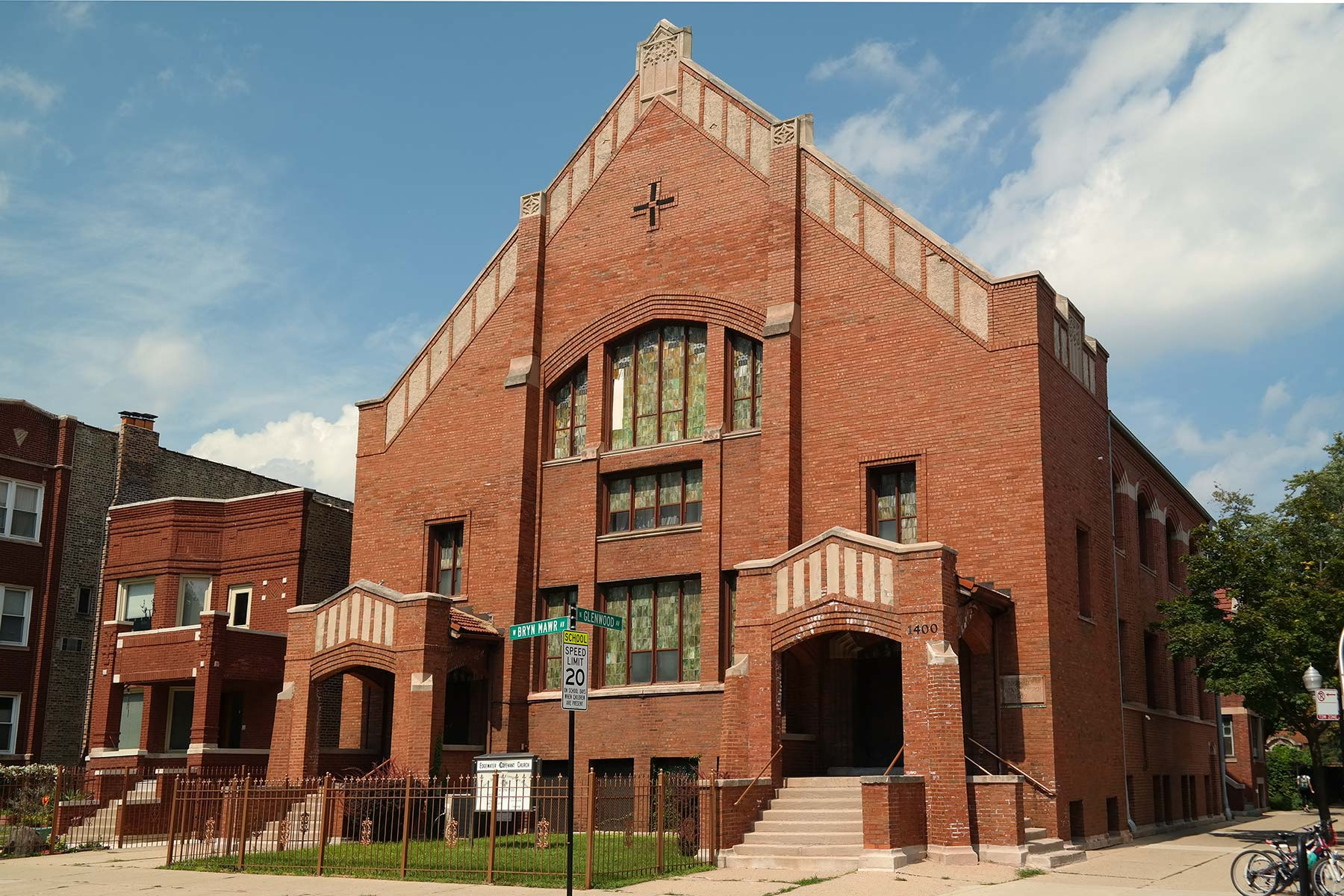 Nyden designed the Swedish Covenant Church in Edgewater. Photo by Jeff Reuben.