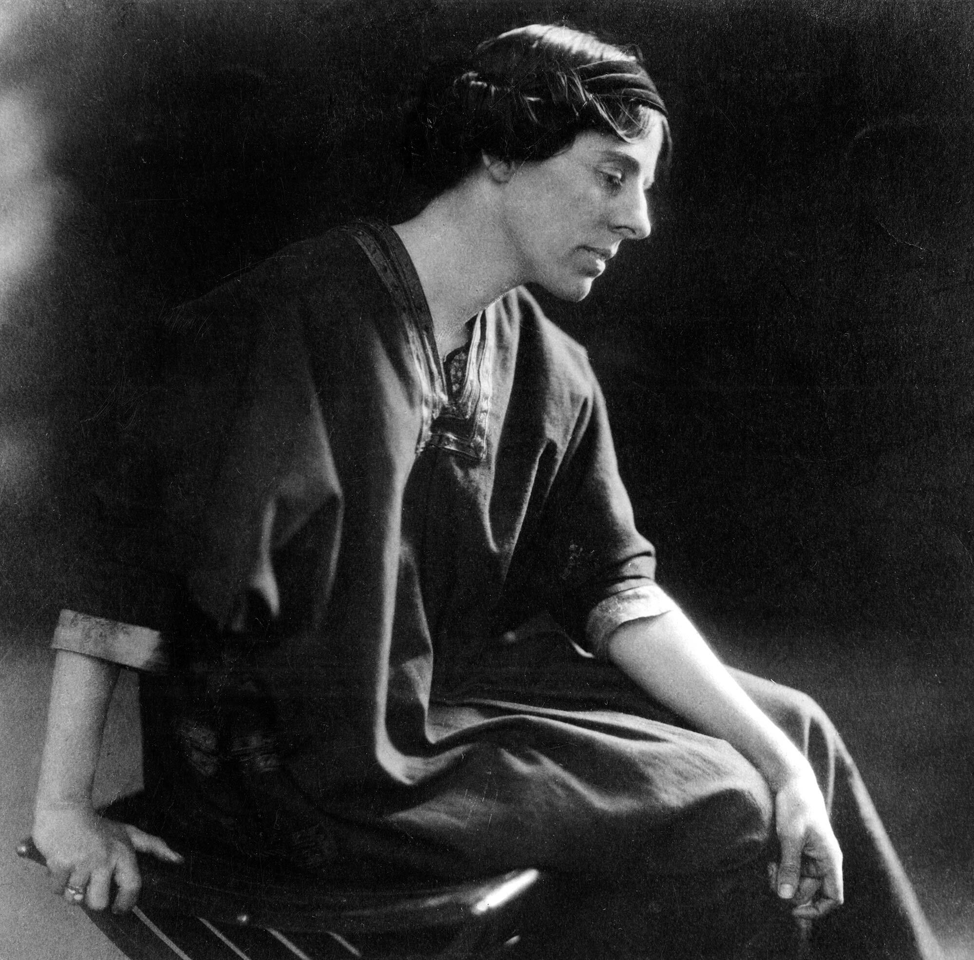Marion Mahony Griffin, Photo courtesy of New-York Historical Society.