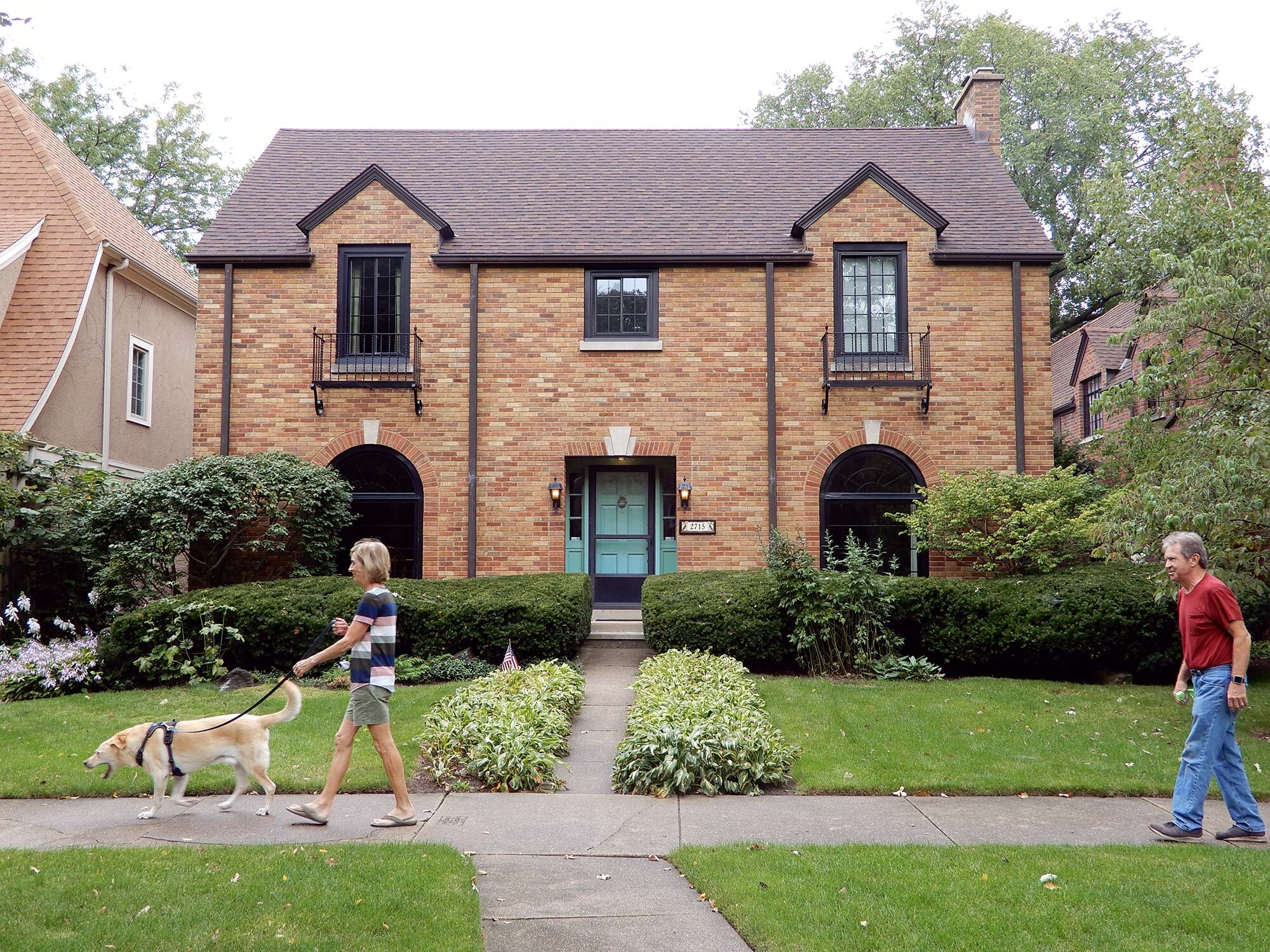 Bertha Y. Whitman-designed house at 2525 Payne Street, Evanston. Photo by Julia Bachrach.