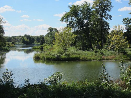 Contemporary View of Jackson Park's East Lagoon. Photo by Julia Bachrach.