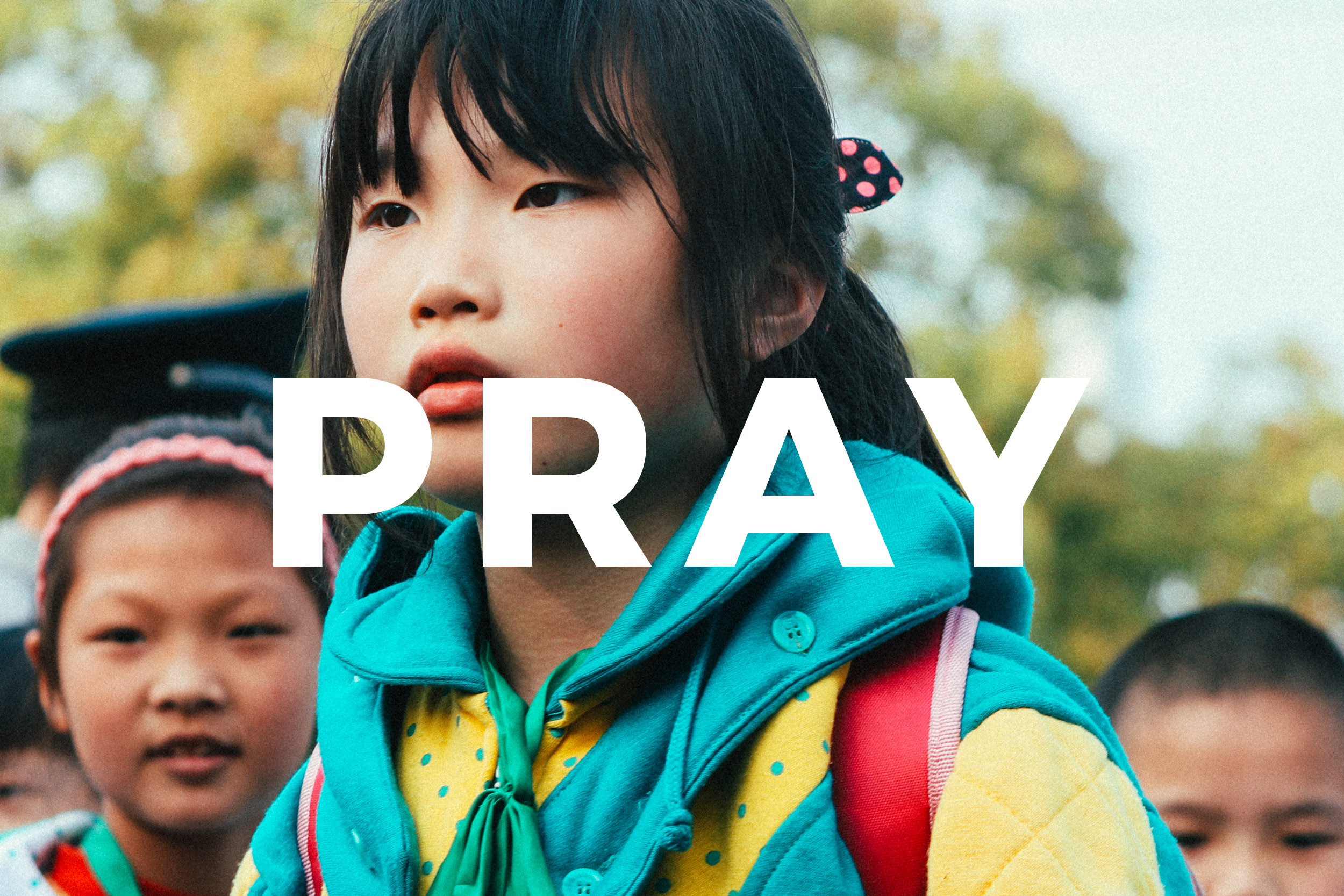 - Will you pray with us for more spiritual leaders to be equipped in Asia? Weekly, scriptural, prayer cards are available to inspire your faith. Request prayer cards here or follow along weekly online.