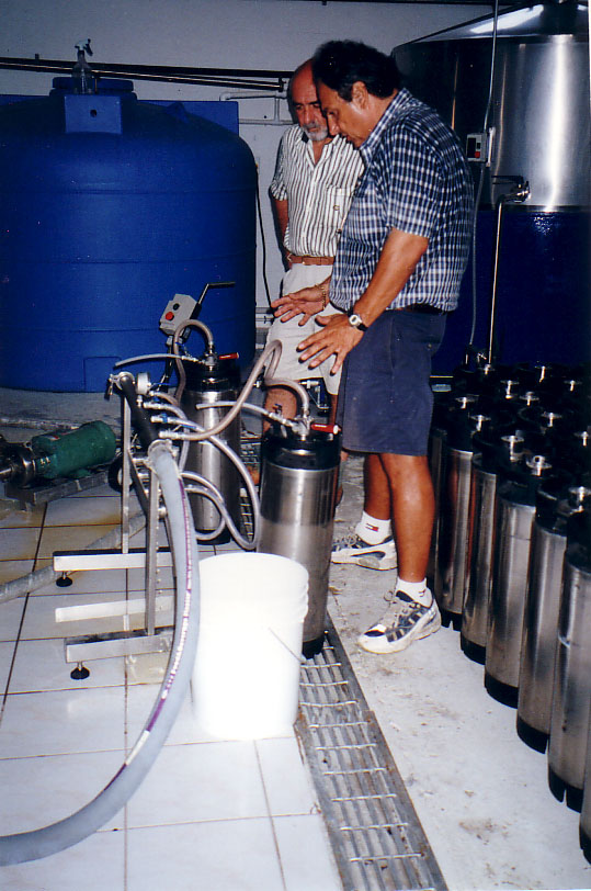 Kegging the first batches.jpg