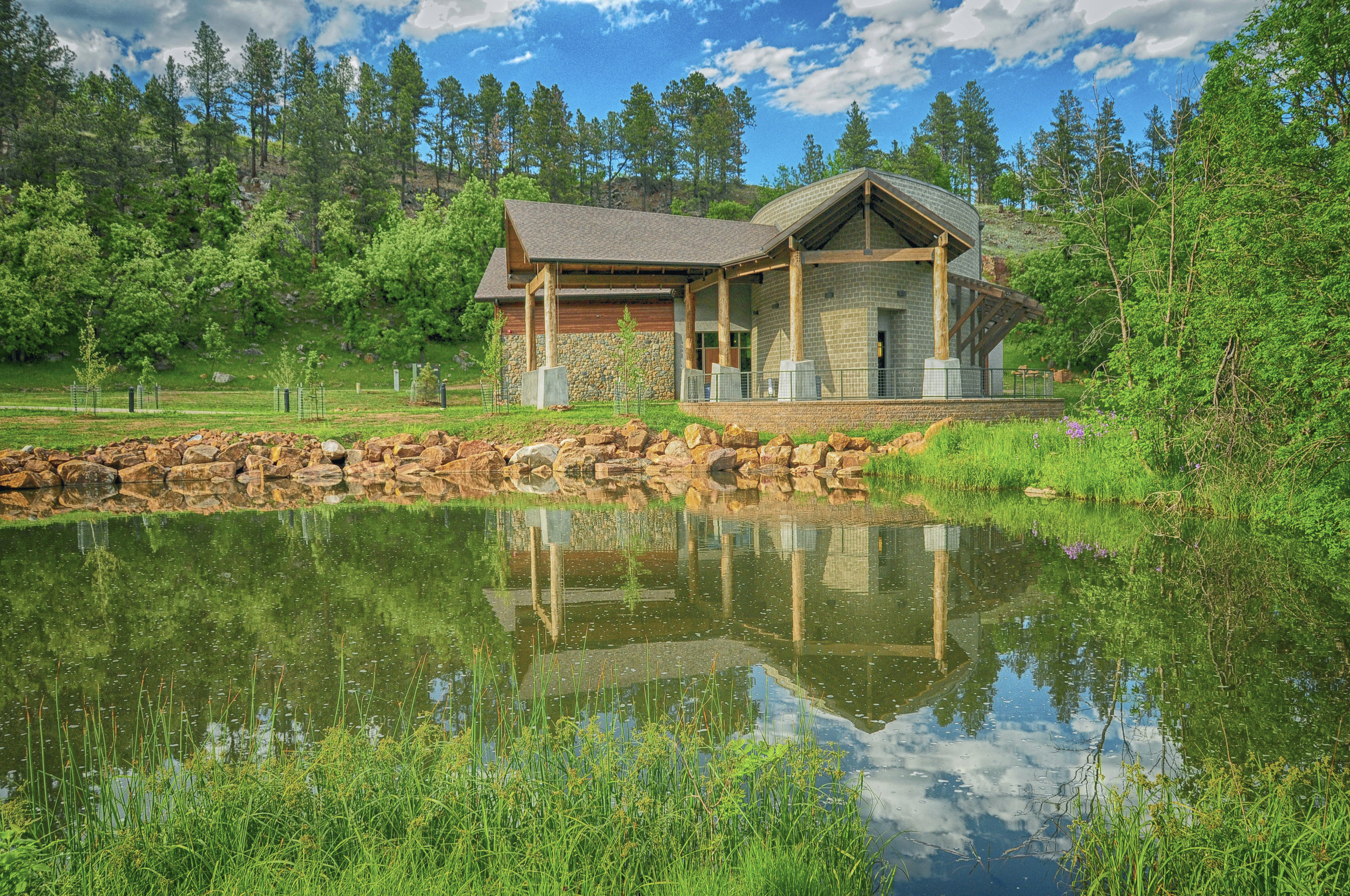 CUSTER STATE PARK VISITOR CENTER - CUSTER.SD