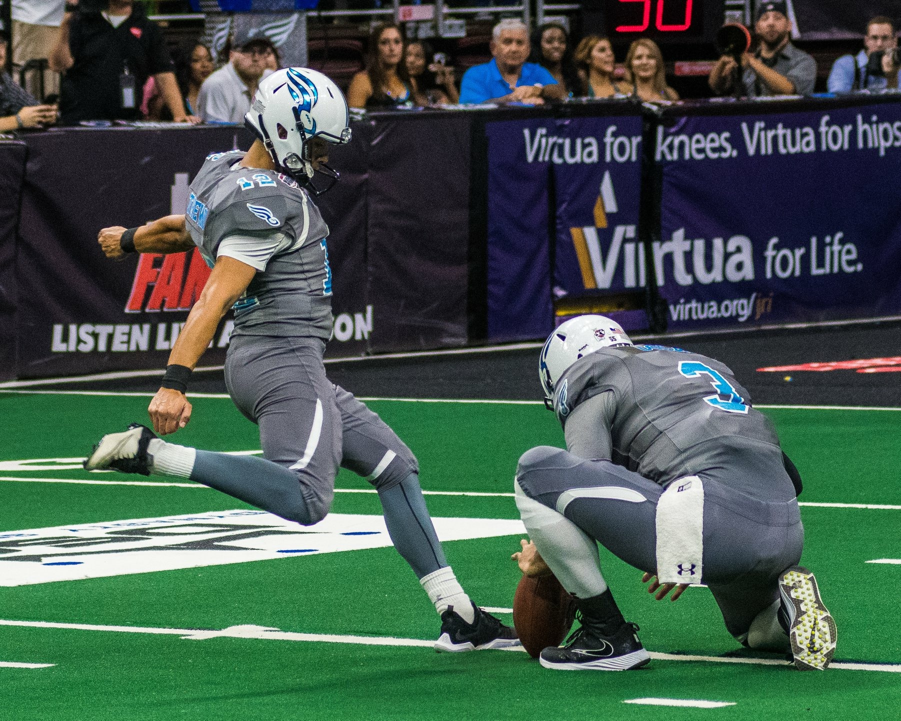Adrian Trevino, Albany NY Area  Adrian is the current starting kicker for the Arena Football League's Albany Empire and is available for individual, group and camp sessions in the Albany Area