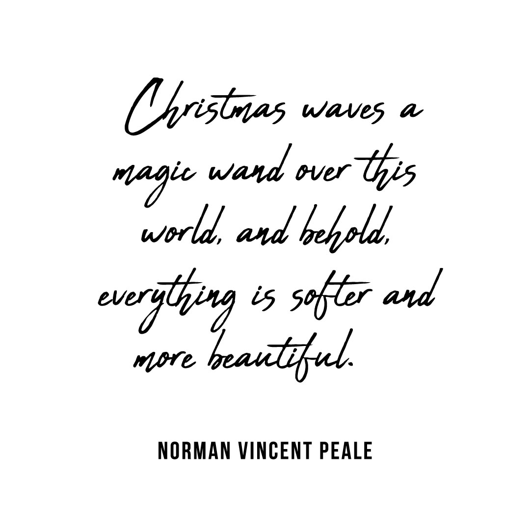 Christmas waves a magic wand DIY TRIBE