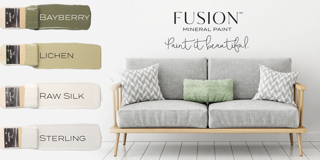 DIY furniture refinishing colour trends with Fusion Mineral Paint