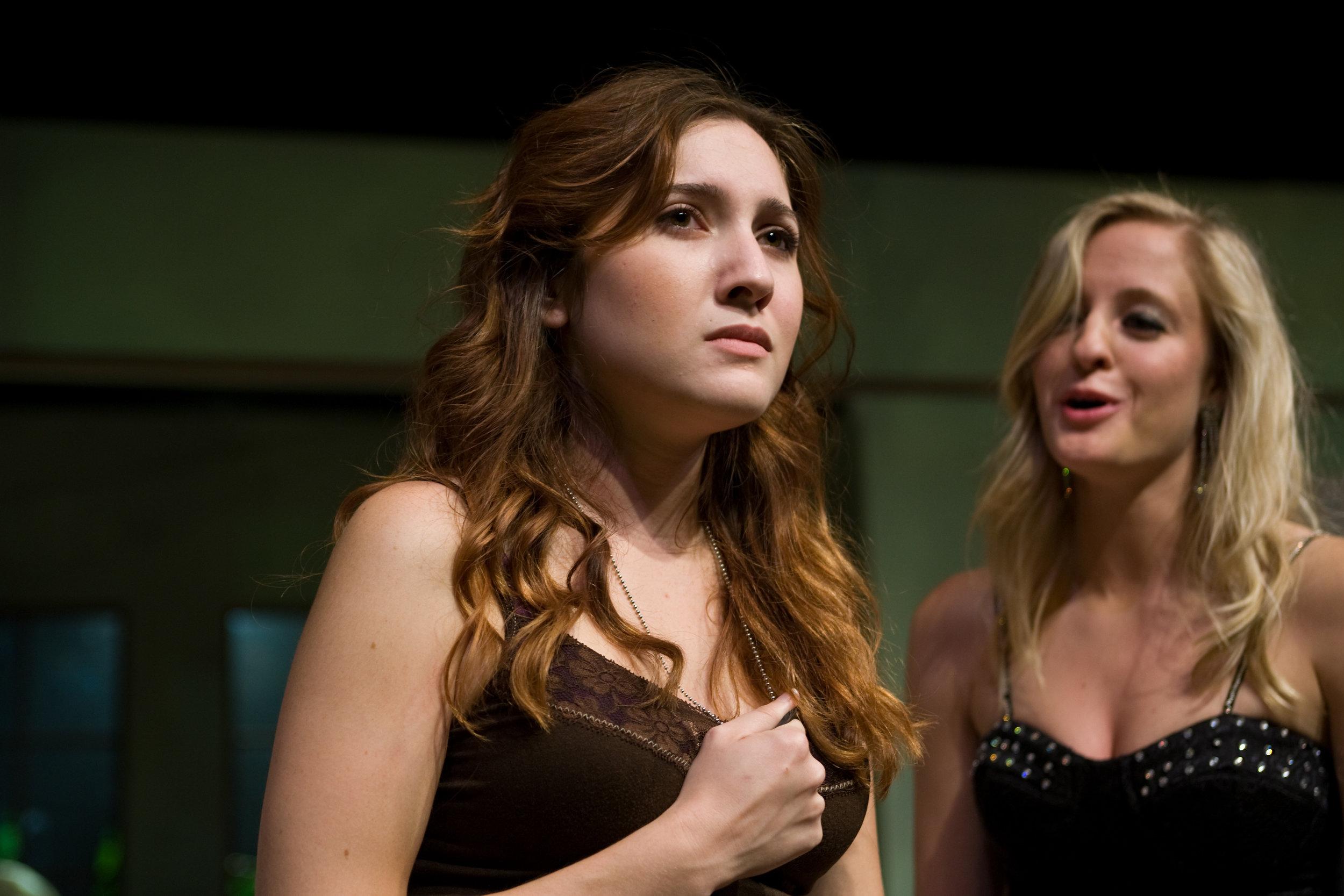 2012 cast, Santa Ana College: Megan King & Cynthia Aldrich
