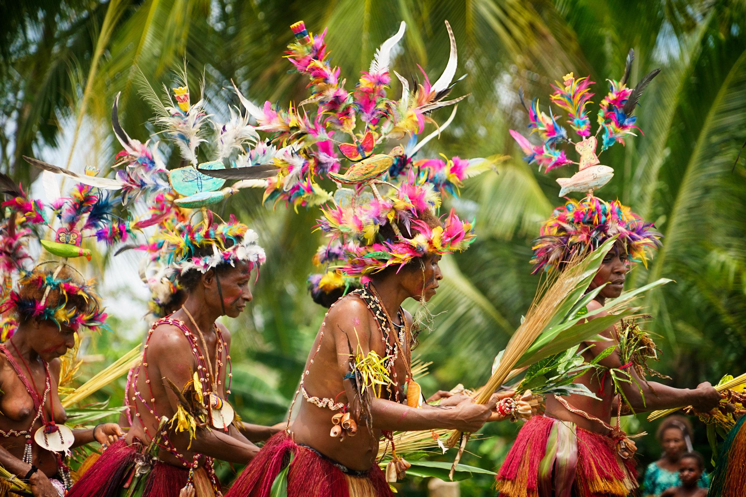 Sepik River sing sing, Papua New Guinea