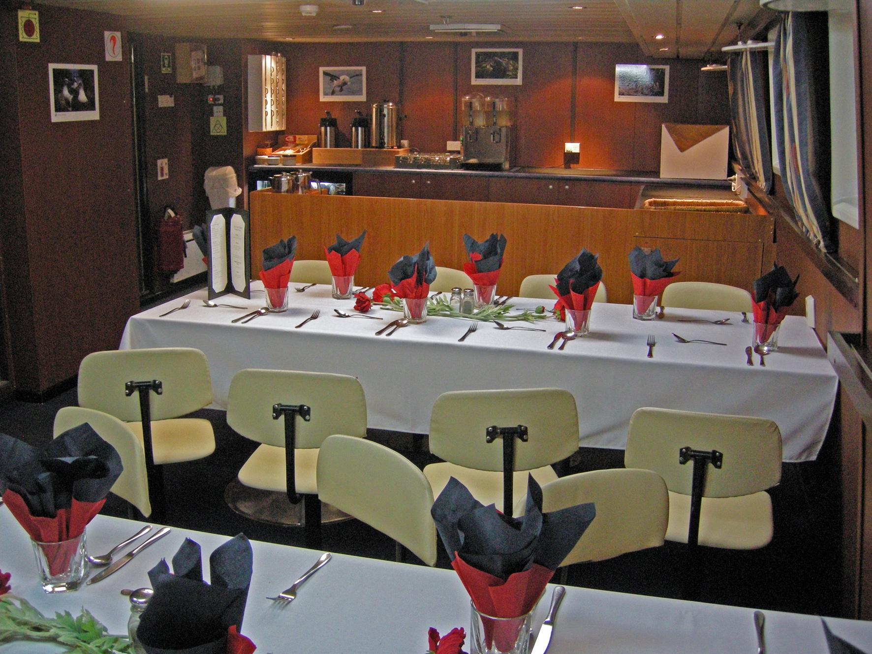 Deck 3 dining room