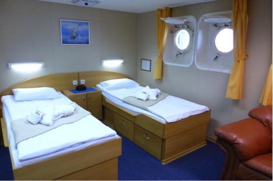 sample Superior cabin