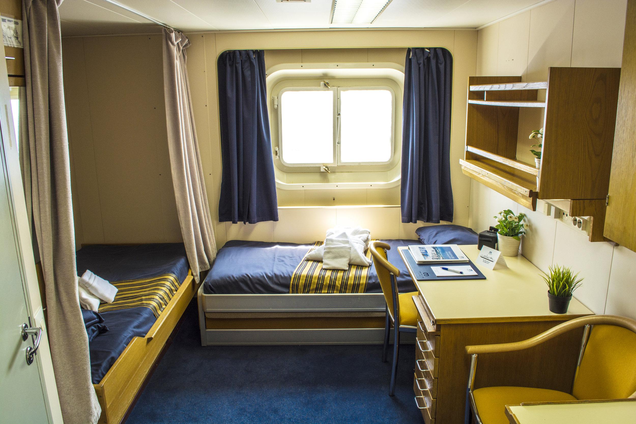 sample Twin Private cabin